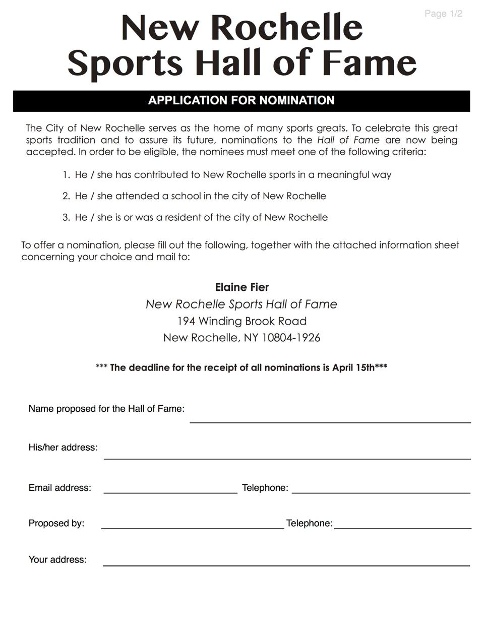 nomination form pdf
